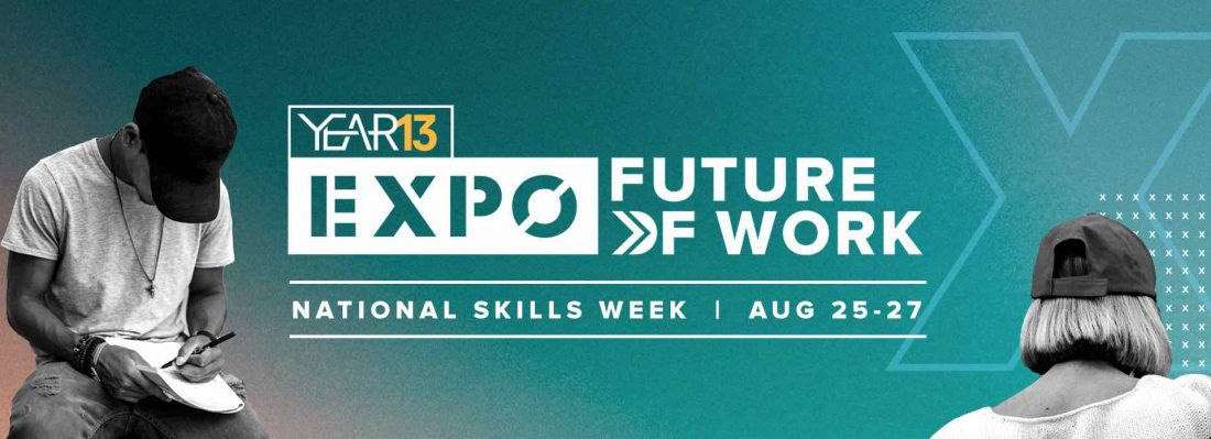 Year13 Future of Work expo banner